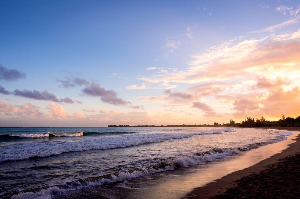 Quarto, 2 camas de casal, Não-fumadores, Vista Oceano - Praia