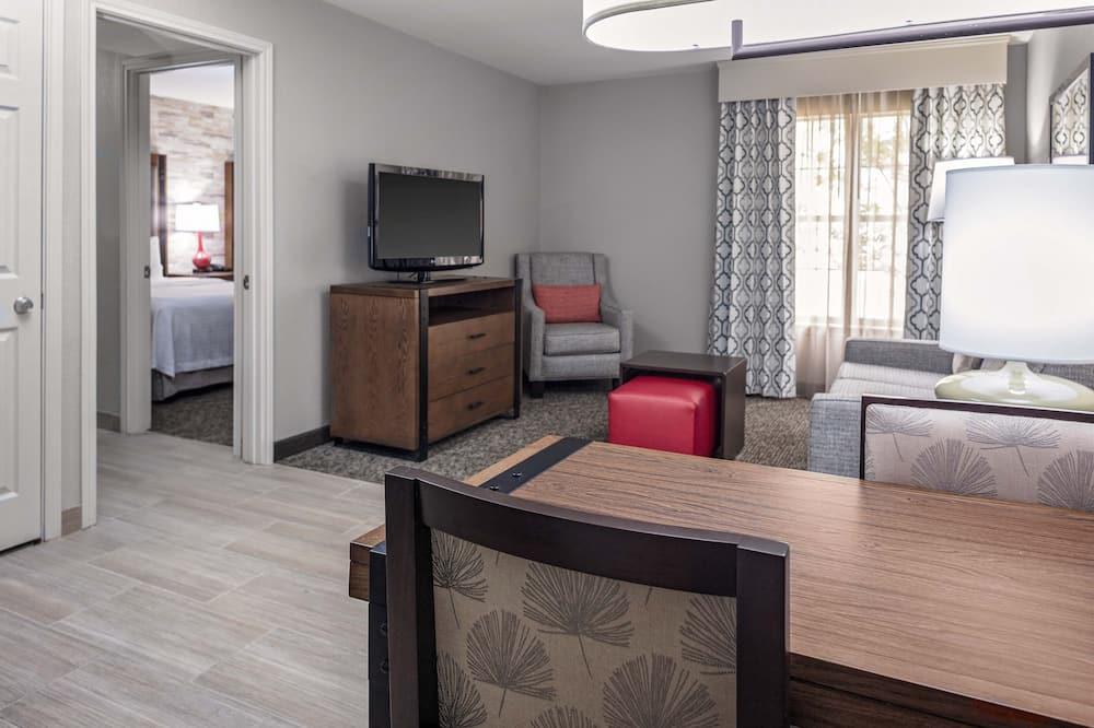 客房, 2 張加大雙人床, 非吸煙房 - 客廳