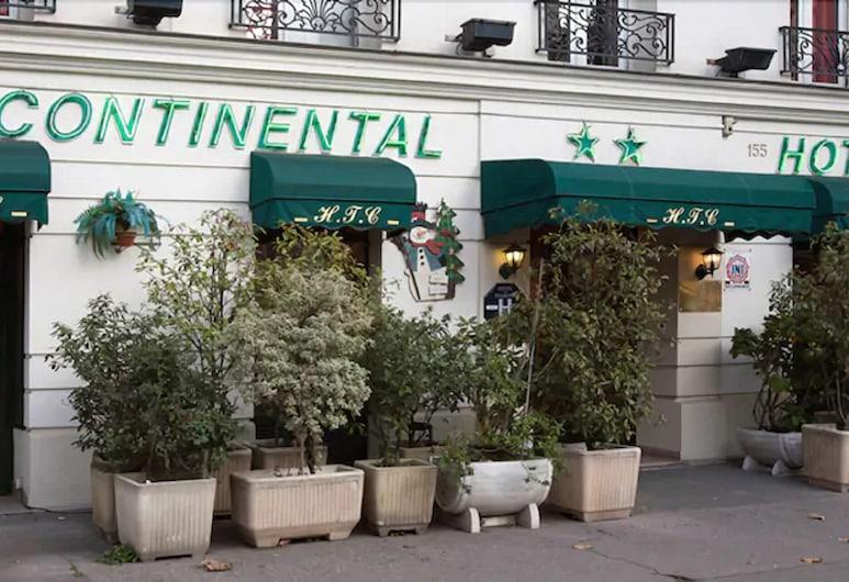 越州酒店, 巴黎, 酒店入口