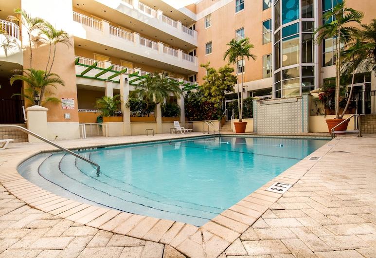 Rodeway Inn South Miami Coral Gables, Miami, Alberca al aire libre