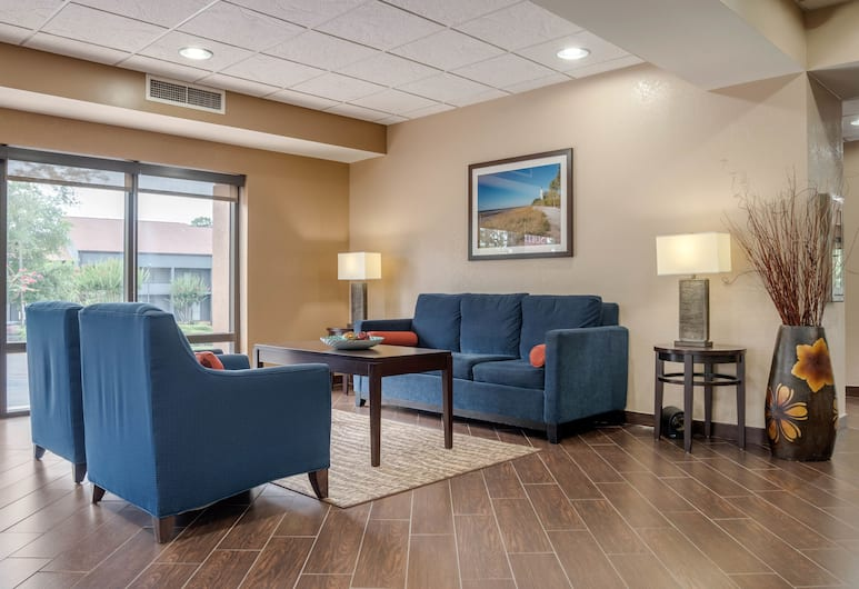 Comfort Suites Tallahassee Downtown, Tallahassee, Salon de la réception