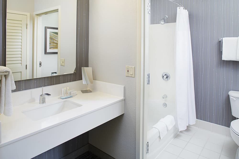 Habitación, 2 camas dobles, no fumadores - Cuarto de baño