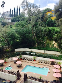 洛杉磯洛杉磯好萊塢希爾頓花園飯店的相片