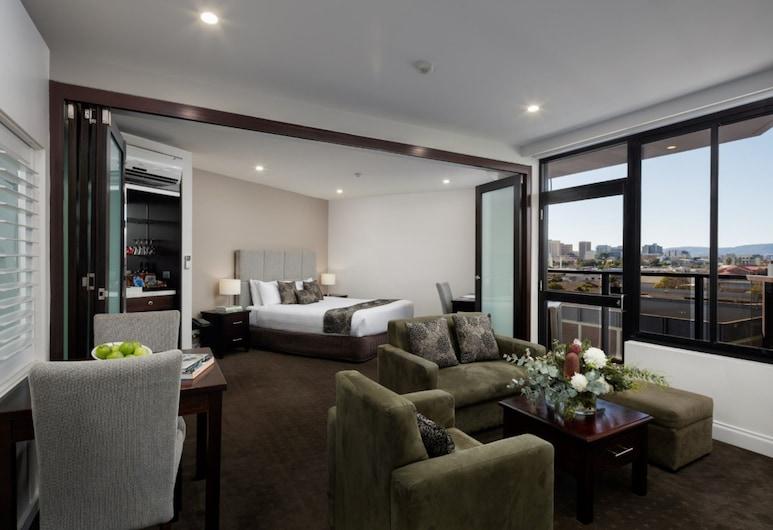 Rydges Adelaide, אדלייד, חדר פרמייר, אמבט זרמים, חדר אורחים