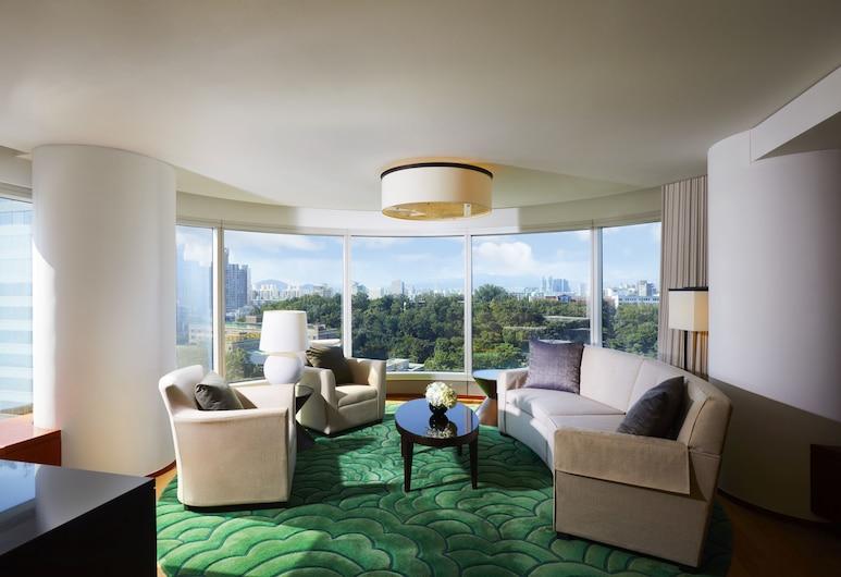 首爾江南世貿中心洲際飯店, 首爾, 套房, 1 張特大雙人床, 邊間, 客房