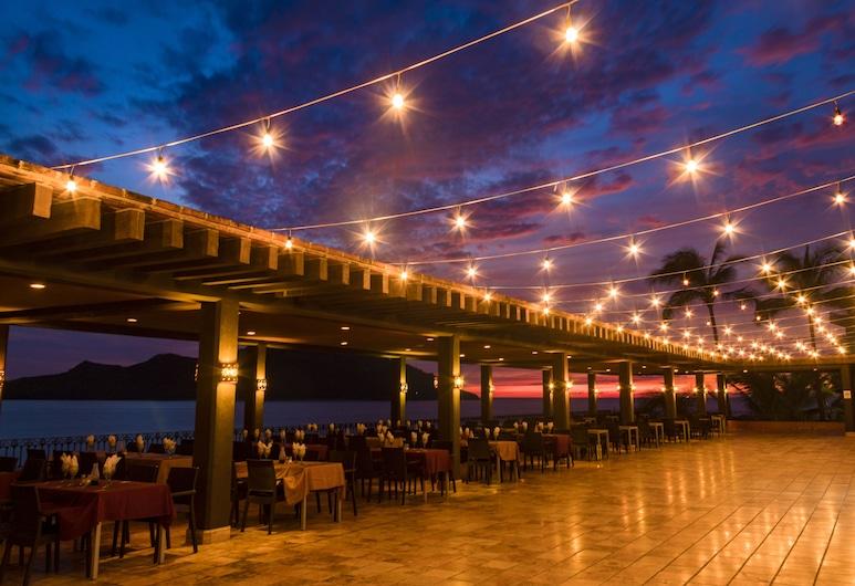 Hotel Playa Mazatlan, Mazatlán, Veranda