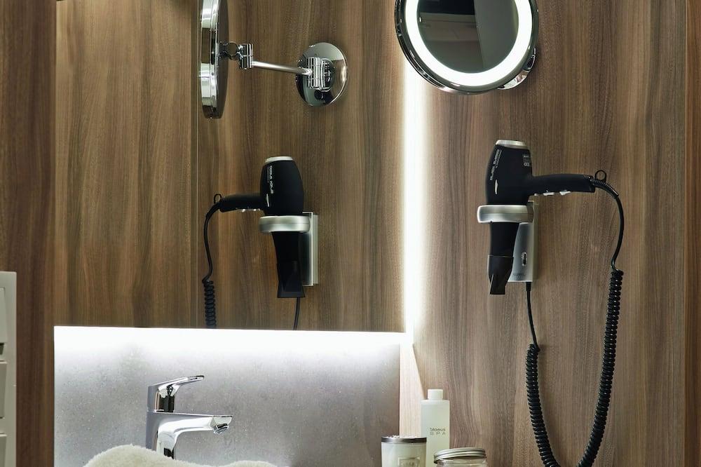 Deluxe-Einzelzimmer - Badezimmer