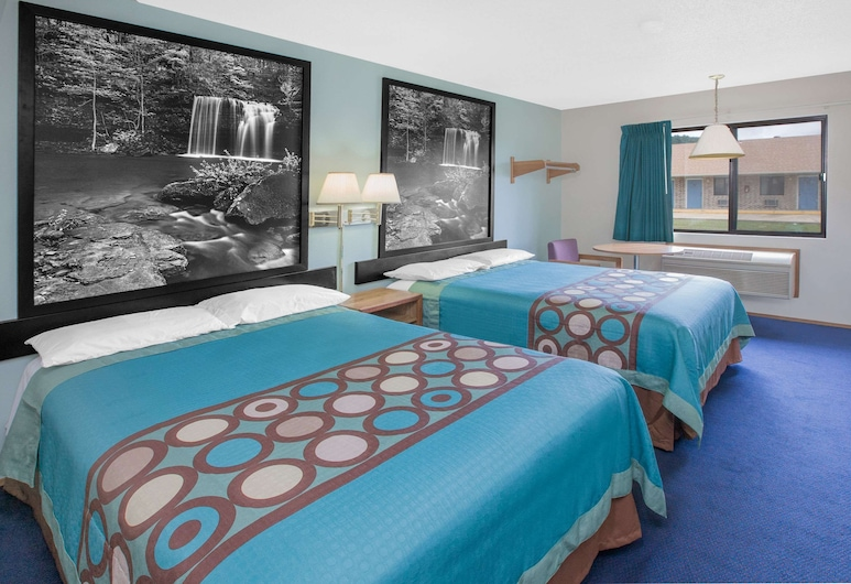 Super 8 by Wyndham Mountain Home, Mountain Home, Pokój dwuosobowy, 2 łóżka podwójne, dla niepalących, Pokój