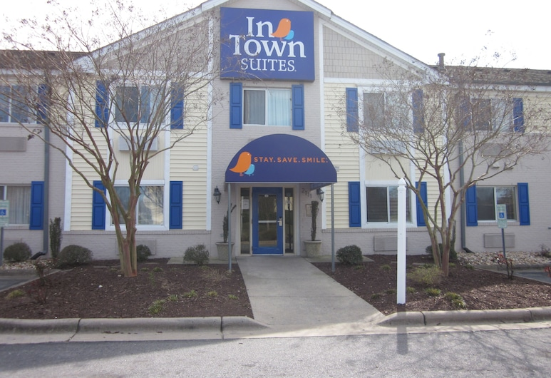 InTown Suites Extended Stay Greenville, Grinvilis