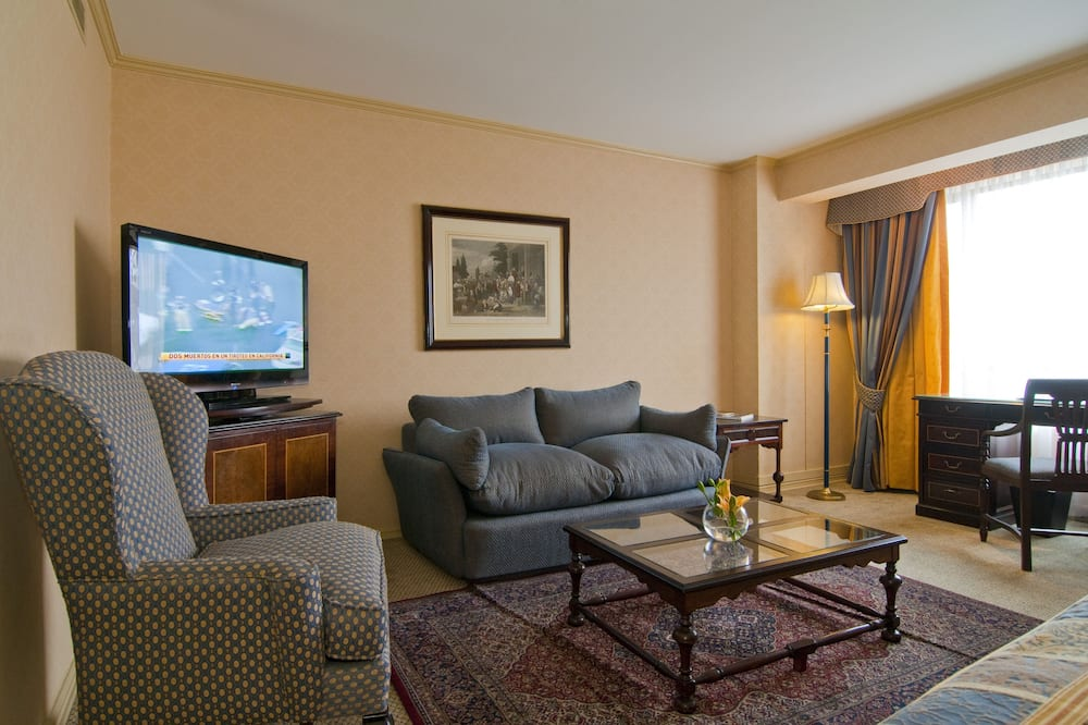 Club Suite, 1 King Bed - Living Area
