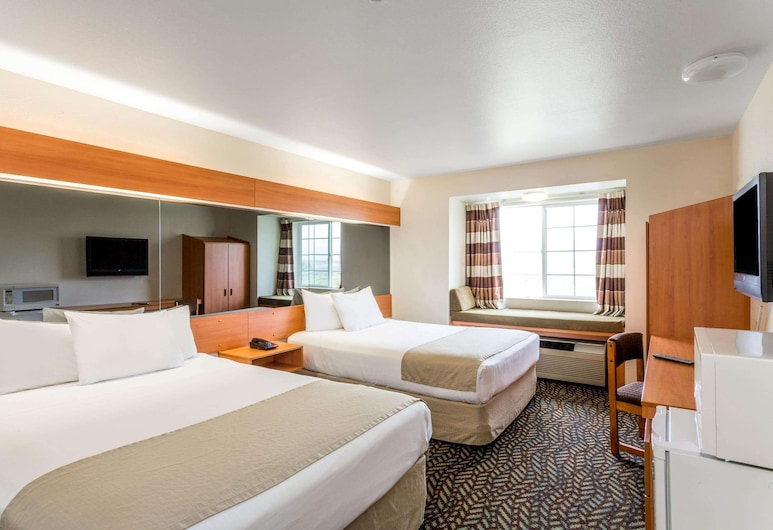 Microtel Inn & Suites by Wyndham Salt Lake City Airport, Salt Lake City, Oda, 2 Büyük (Queen) Boy Yatak, Sigara İçilmez, Oda