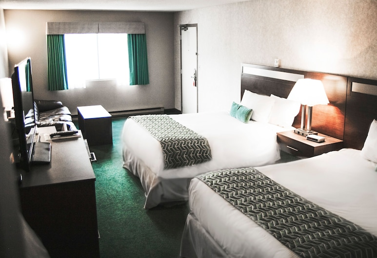 Ramada Limited Quesnel, Quesnel, Room, 2 Queen Beds, Non Smoking, Guest Room