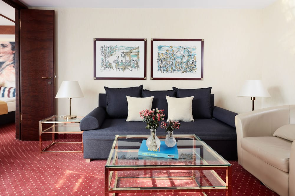 Deluxe Διαμέρισμα - Περιοχή καθιστικού