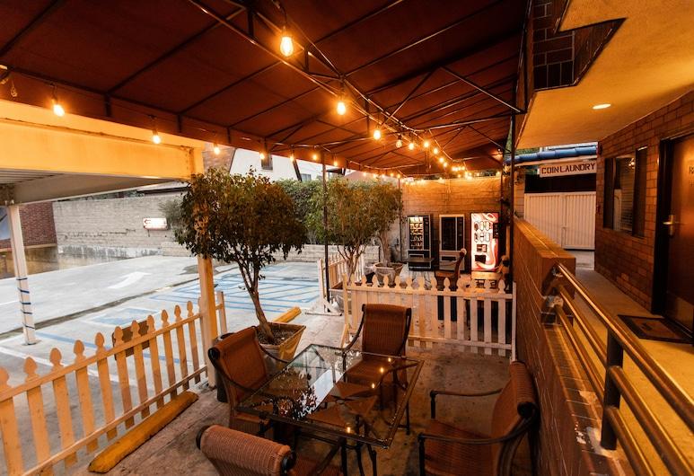 Rotex Hotel, Los Angeles, Terrace/Patio