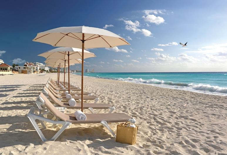 Beach Palace Resort All Inclusive, Cancún, Strand