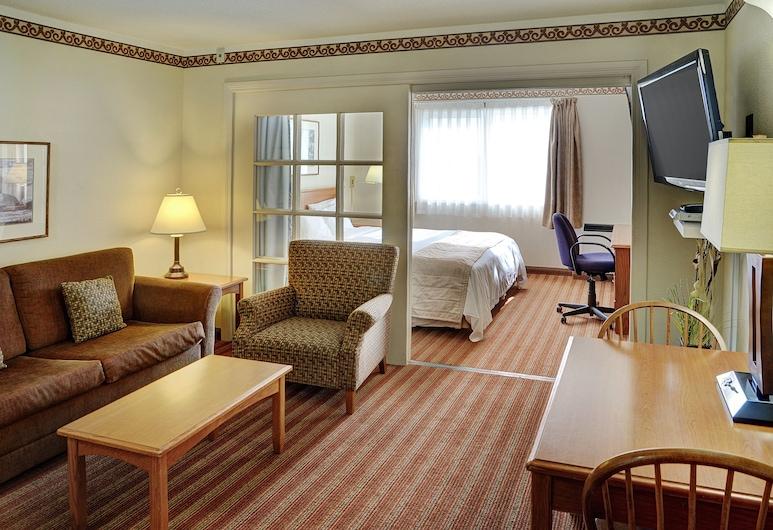 Lakeview Inns & Suites - Brandon, Brandon, Superior Suite, 1 Bedroom, Living Room