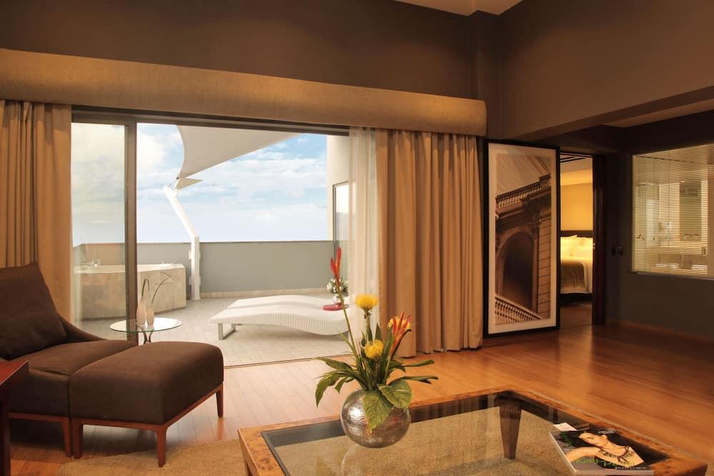 Ateliérové apartmá, dvojlůžko (200 cm) - Výhled z pokoje