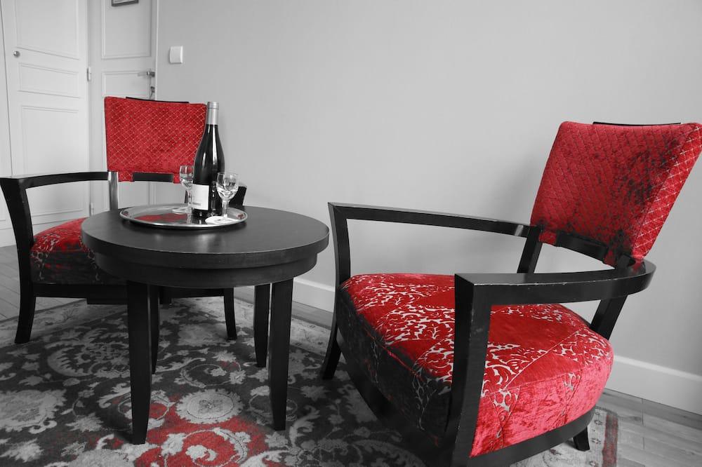 Phòng đôi Superior - Khu phòng khách