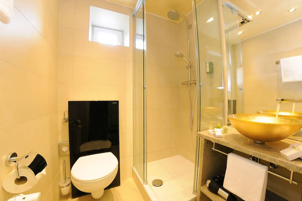 Comfort kamer, 1 tweepersoonsbed, uitzicht (Comfort Plus) - Badkamer