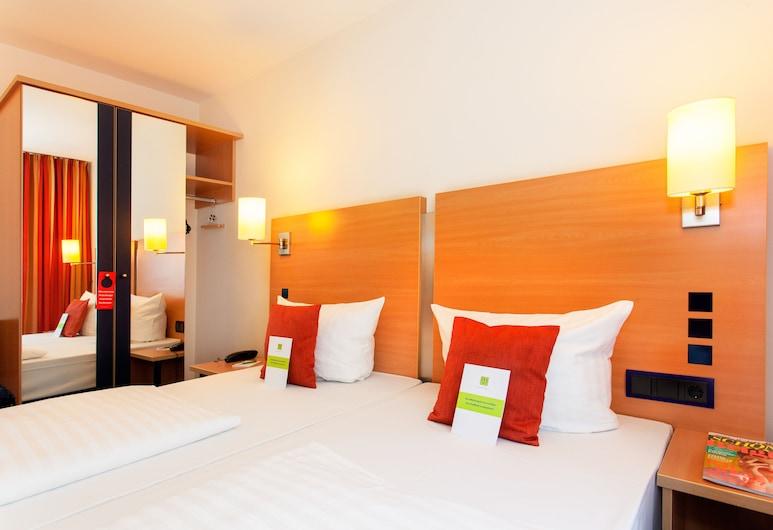 Favored Hotel Plaza, Frankfurt, Comfort-dobbeltværelse, Udsigt fra værelse