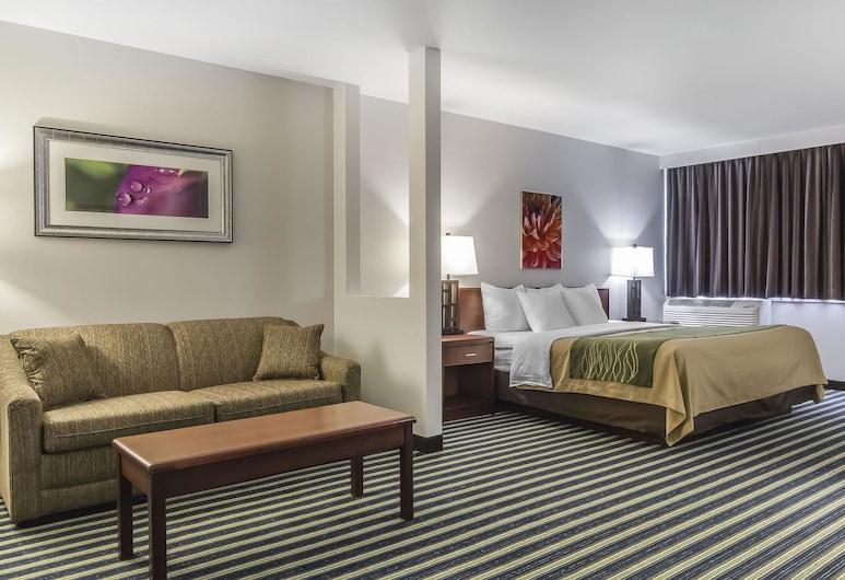 Comfort Inn & Suites, Moose Jaw, Suite, 1 cama King size con sofá cama, para no fumadores, Habitación