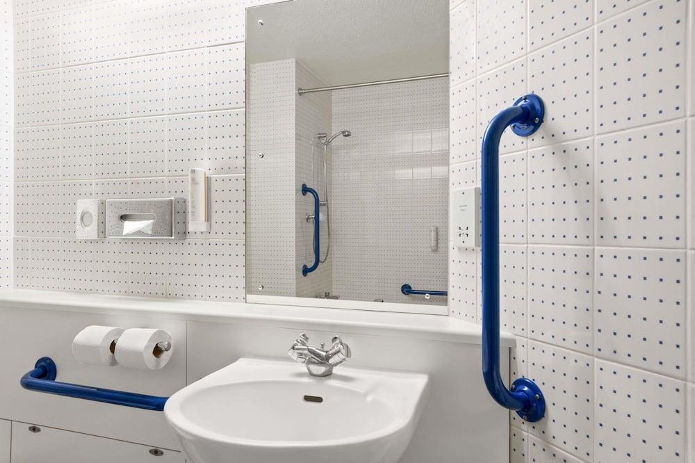 Pokój z 2 pojedynczymi łóżkami, przystosowanie dla niepełnosprawnych, dla niepalących - Łazienka