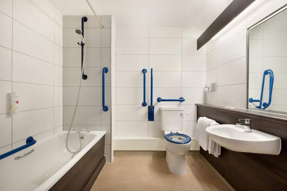 Room, 1 Katil Kelamin (Double), Accessible, Non Smoking (Mobility) - Bilik mandi