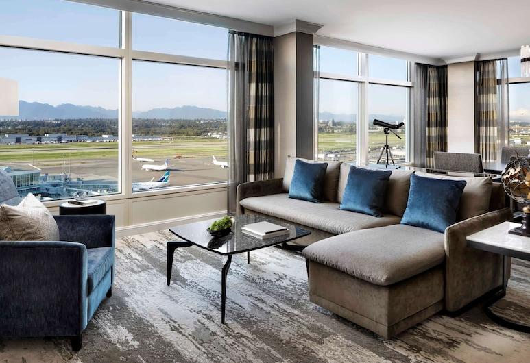 Fairmont Vancouver Airport In-Terminal Hotel, Ричмонд, Номер
