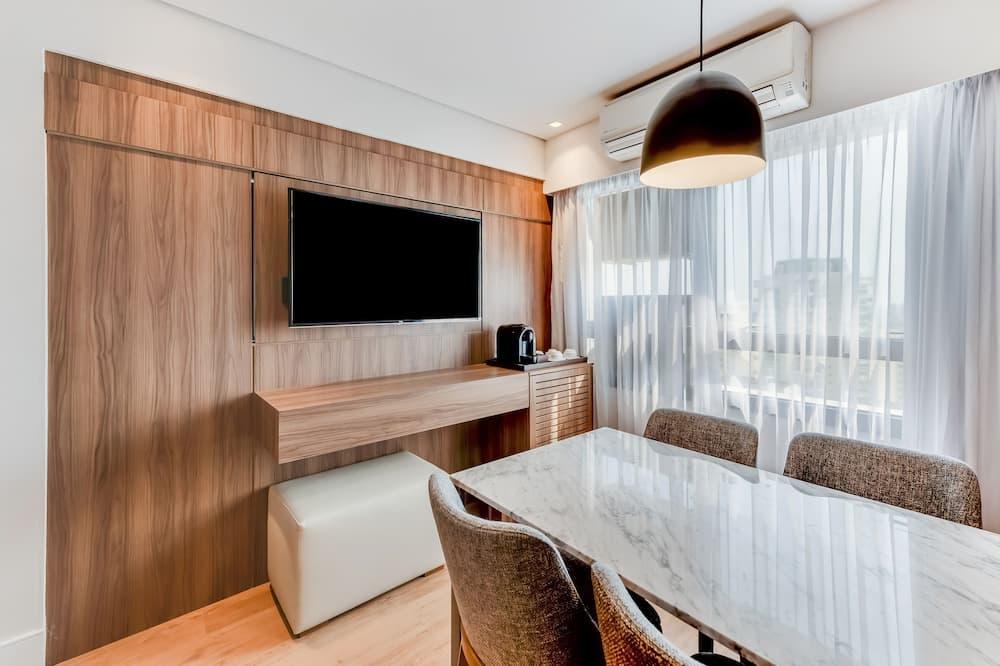 Suite Business Class King - Sala de estar