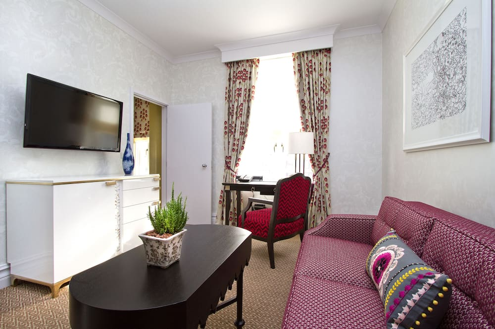 Junior Suite, 1 King Bed, Non Smoking - Living Area