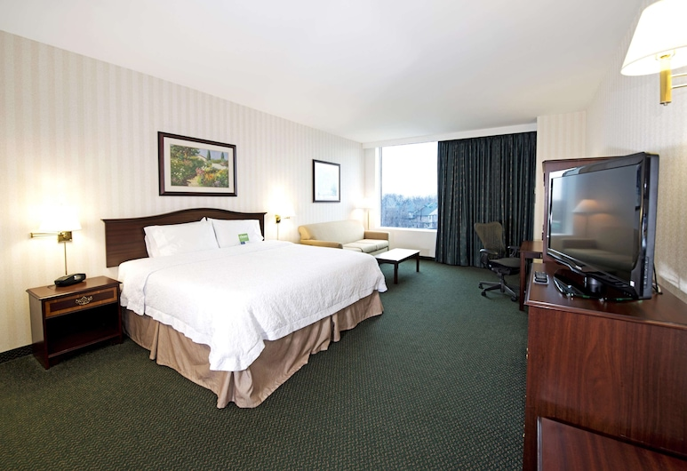 Hampton Inn by Hilton Ottawa, Ottawa, Room, 1 King Bed, Non Smoking, Guest Room