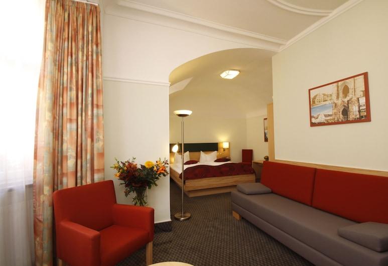 Hotel Barbara, Fribourg-en-Brisgau, Suite, Coin séjour