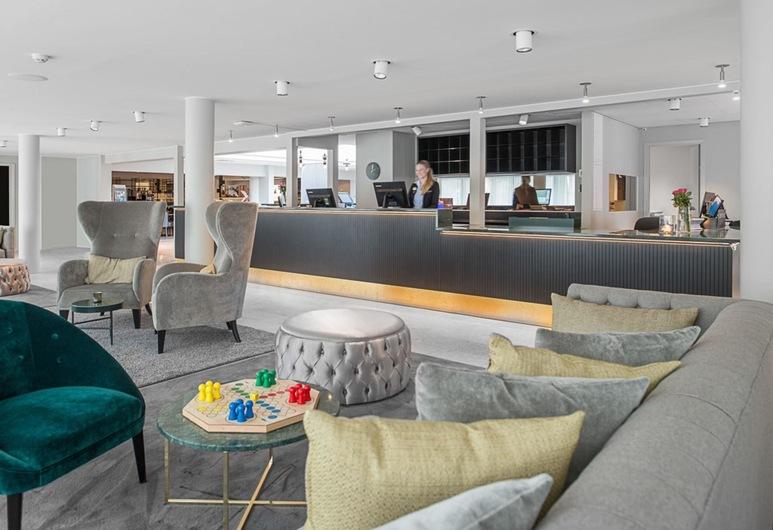 Quality Hotel Ekoxen, Linkoping, Vstupní hala
