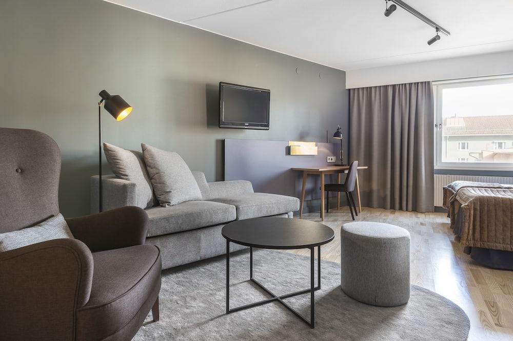 家庭客房, 多張床, 非吸煙房 - 客廳