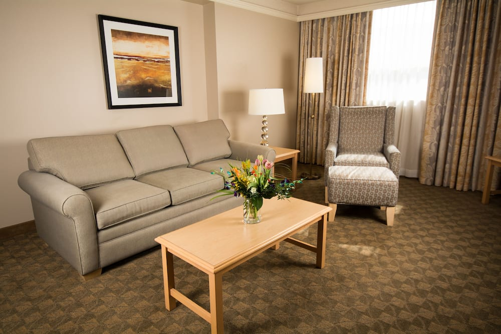 Executive King Suite with Pullout Sofa - Living Area