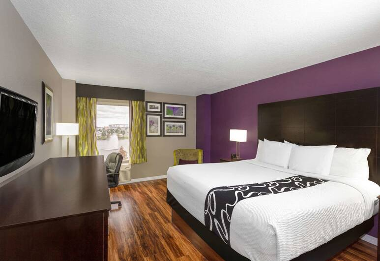 La Quinta Inn & Suites by Wyndham Orlando Universal area, Orlando, Room, 1 King Bed, Non Smoking, Guest Room
