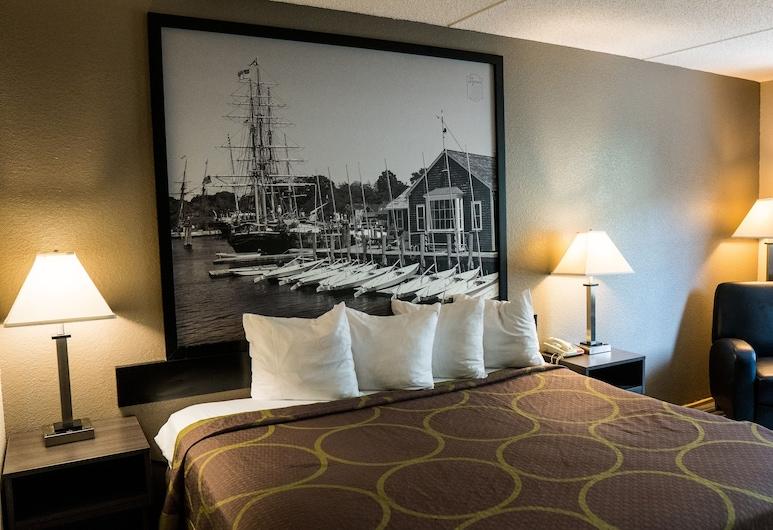 Super 8 by Wyndham Groton, Groton, Standardna soba, 1 king size krevet, za pušače, Soba za goste