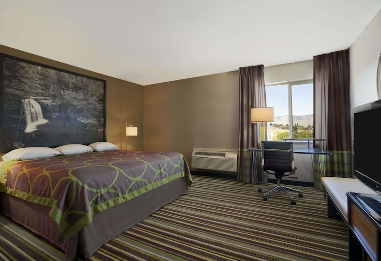 Super 8 by Wyndham Pocatello, Pocatello, Room, 1 King Bed, Non Smoking, Guest Room