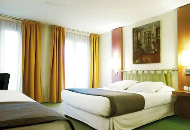 New Hotel Opera, Paris, Triple Room, Guest Room