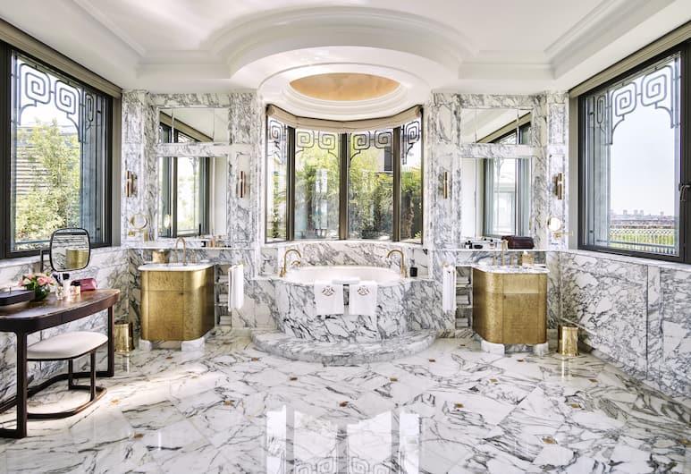 Le Meurice - Dorchester Collection, Paryžius, Mansarda, 1 labai didelė dvigulė lova (Belle Etoile), Svečių kambarys