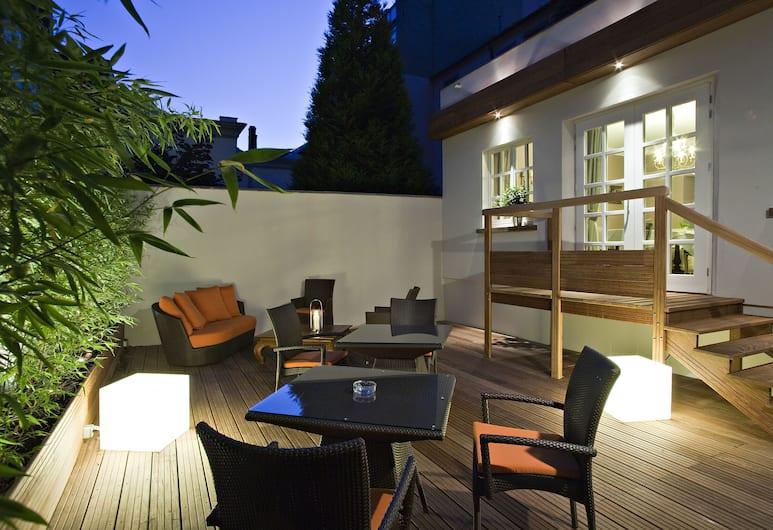 Best Western Plus Hotel Villa D'est, Strazburg, Teras/Veranda
