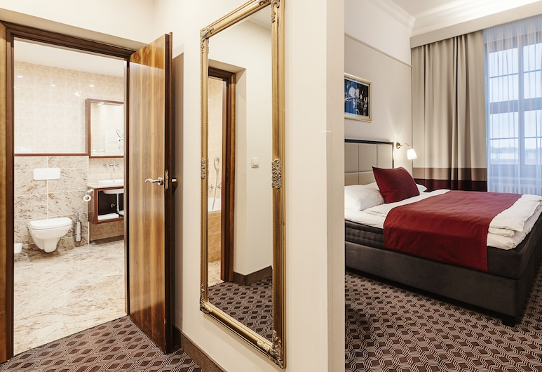 Grandhotel Brno, Brno, Executive Double Room, Bathtub, Guest Room