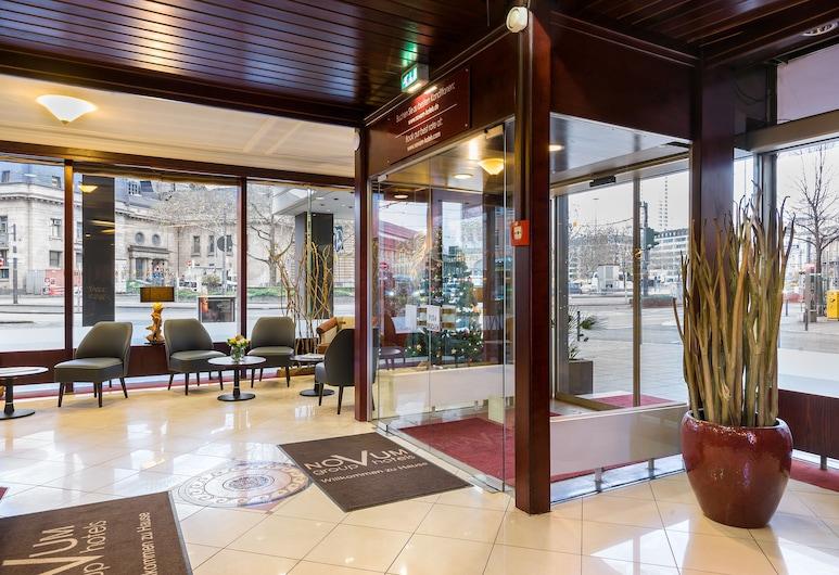 Novum Hotel Continental Frankfurt, Frankfurt, Lobi Dinlenme Salonu