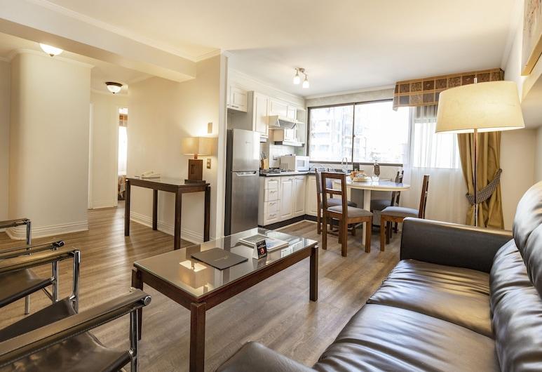 Park Plaza Apartments, Santiago, Departamento superior, 2 habitaciones, Sala de estar