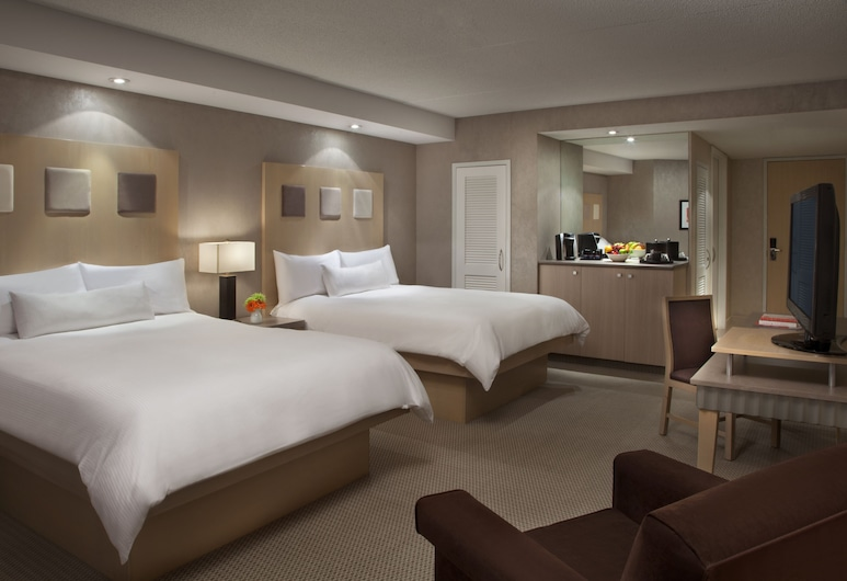 White Oaks Resort & Spa, Niagara-on-the-Lake, Pokój standardowy, 2 łóżka queen, wysokie piętro, Pokój