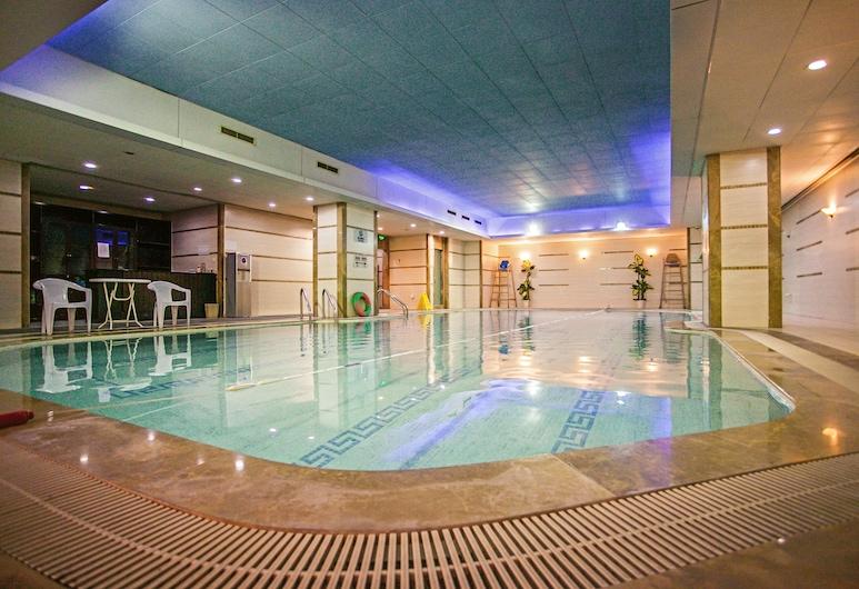 上海中油陽光大酒店, 上海市, 室內泳池