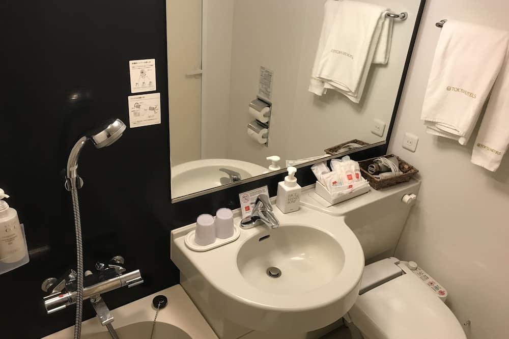 三人房, 非吸煙房 (2 Single Beds+ Extra Bed, 18sqm) - 浴室