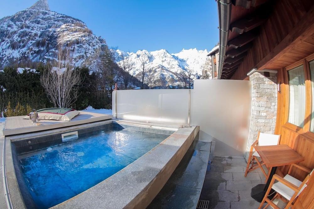Habitación ejecutiva con 1 cama doble o 2 individuales, piscina privada - Piscina privada