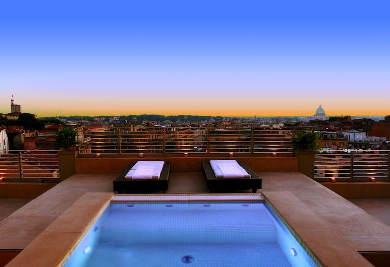 Sina Bernini Bristol, Rome, Presidential Suite, City View