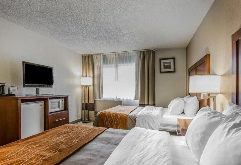 懷里卡 I-5 凱富飯店, 懷裡卡, 標準客房, 2 張加大雙人床, 非吸煙房, 客房